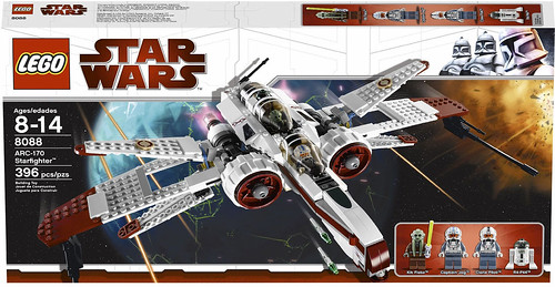 8088 ARC 170 Starfighter