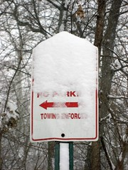 Snowstorm Pictures - Sign