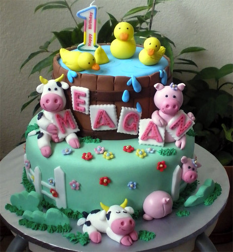 Farm Animals Meagan Cake