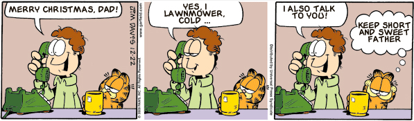 Garfield: Lost in Translation, December 22, 2009