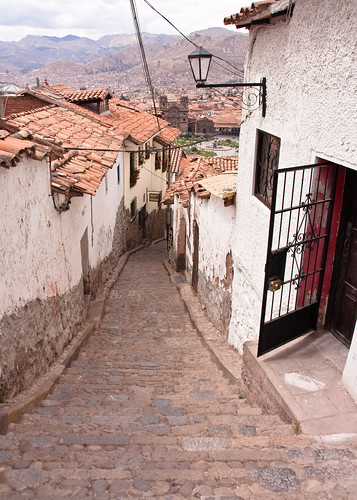 Steep Streets of Cusco by MacJewell, on Flickr