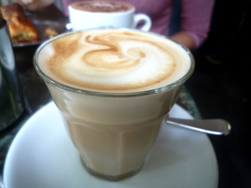 Bourke Street Bakery weak latte
