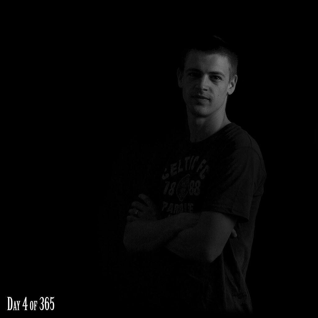 4/365 - Self Portrait