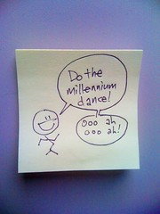 Everybody! Do the new millennium dance!