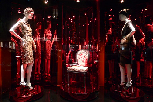 Vitrine Dior - Paris décembre 2009