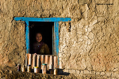 The Face in the Window (Ragstatic) Tags: world life nepal light sunset portrait people mist mountain snow mountains color weather misty fog architecture sunrise landscape interesting nikon shadows view rags candid culture peak calm mystical kathmandu serene tall hop himalaya magical himalayas journalism sadhu bhaktapur tallest nagarkot relevant photojounalism d700