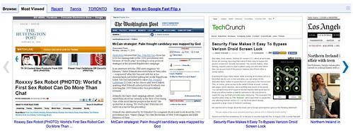 Google News Fast Flip