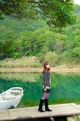 (Funstyle) Tags: portrait woman cute girl beauty model nikon asia taiwan sigma babe taipei  fx  2010 peopel    prettyface     2470 mikako  d700