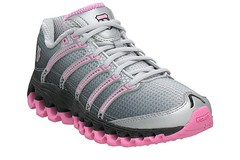 K-Swiss Tubes Run 100 Pink facing right side