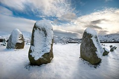 Castlerigg (gms) Tags: winter england snow standingstones lakedistrict cumbria druid pagan stonecircle castlerigg dafteejits