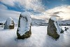 Castlerigg (gms) Tags: winter england snow standingstones lakedistrict cumbria druid pagan stonecircle castlerigg dafteejits