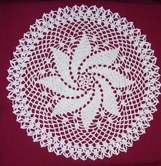 Pinwheel doily