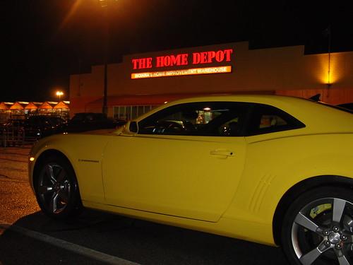 late night home depot runs are fun in a camaro.