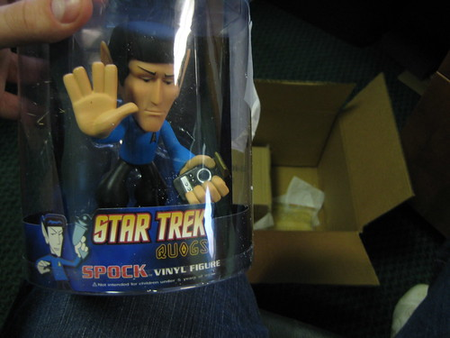 Spock Bobblehead from Woot BOC