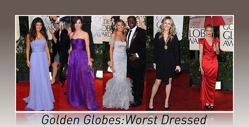 Golden Globes Worst Dressed