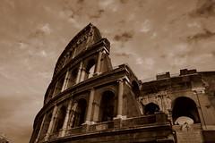 The symbol of history (jo-veski) Tags: rome colosseum sephia sigma1770