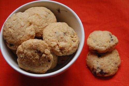 Biscotti mandorla cioccolato