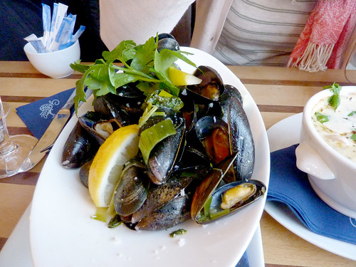 Mussels at Gabriels