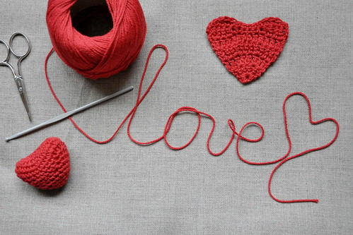 valentine's day :: something to crochet