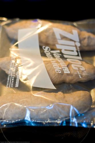 Sous Vide Supreme: experimental bread