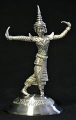 DGJ_4732 - Thailand (archer10 (Dennis) (66M Views)) Tags: trip travel thailand nikon free dancer dennis jarvis pewter d300 iamcanadian 18200vr worldtravels dennisjarvis archer10 dennisgjarvis