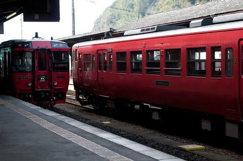 しんぺい号から九州横断鉄道
