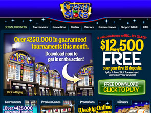 online casino real money crazy slots casino