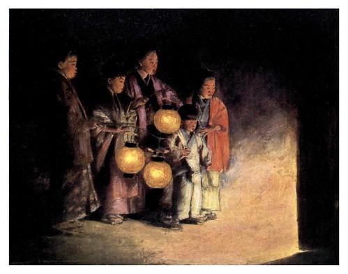 001-A la luz de las linternas-Japan  a record in color-1904- Mortimer Menpes