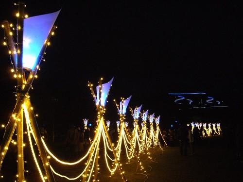 奈良の真冬の新イベント『しあわせ回廊 なら瑠璃絵』