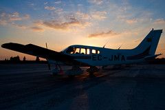 20090216-0035 (improbablytall) Tags: aircraft piper jerez piperwarrior pa28 fte flighttrainingeurope