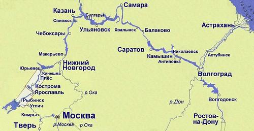 Карта-схема (РЫБИНСК-ПЛЁС)