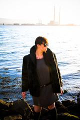 Sarah (shaymurphy) Tags: ireland sea portrait irish house water fashion outside outdoors model rocks outdoor alt pigeon babe location tattoos alternative poolbeg nikkor18200vr nikond300 savepoolbeg