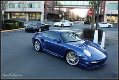Exotics rolling in... (ApexRally.com) Tags: auto car automobile 911 ferrari exotic turbo porsche gt scuderia supercar carrera 430