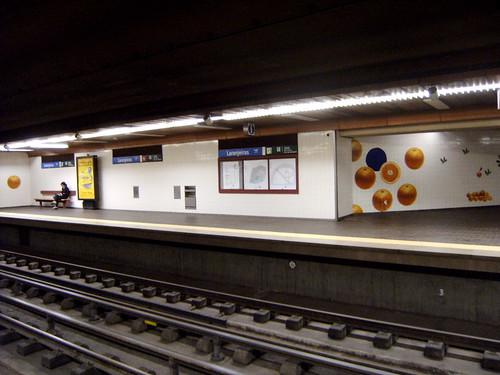 Metro de Lisboa; Estação Laranjeiras