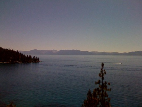 tahoe from a bike