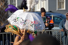 Mardi Gras Parasol