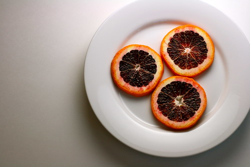 blood orange slices