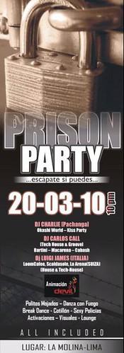 Prison Party - La Planicie