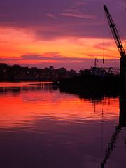 P1280530 (ishafizan) Tags: morning sunrise lumix dawn waterfront jetty panasonic sarawak malaysia kuching fz28 ishafizan