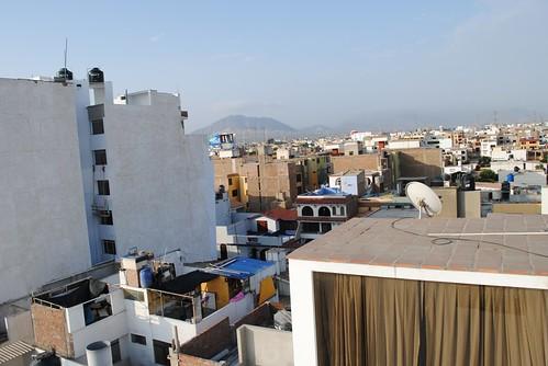 העיר טרוחיו מבט מהגג