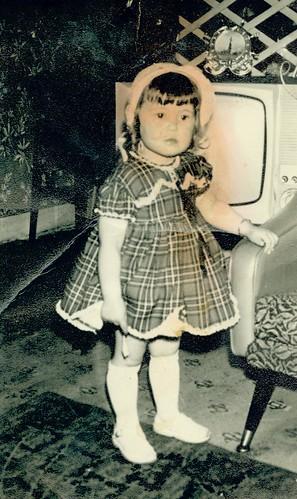Jacqueline Smith, Auntie Ena's house, Gorbals, 1966 / 1967.