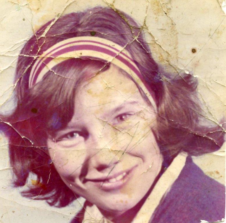 Helen Callahan, age 14 years, 1963.