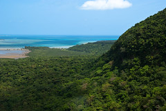 Iriomote Island (Mountain/Waterfall View) (milewski) Tags: ocean sky mountain beach nature water beautiful japan forest river landscape island scenery view pacific altitude scenic scene pacificocean jungle tropical tropic okinawa mountainview tropics subtropics iriomote wildjungle