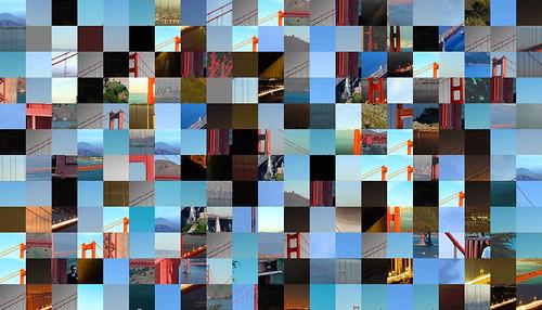 Golden Gate Bridge Montage