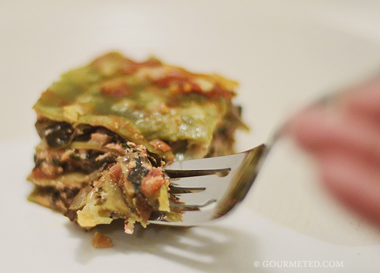 Eggplant and Chard Lasagne