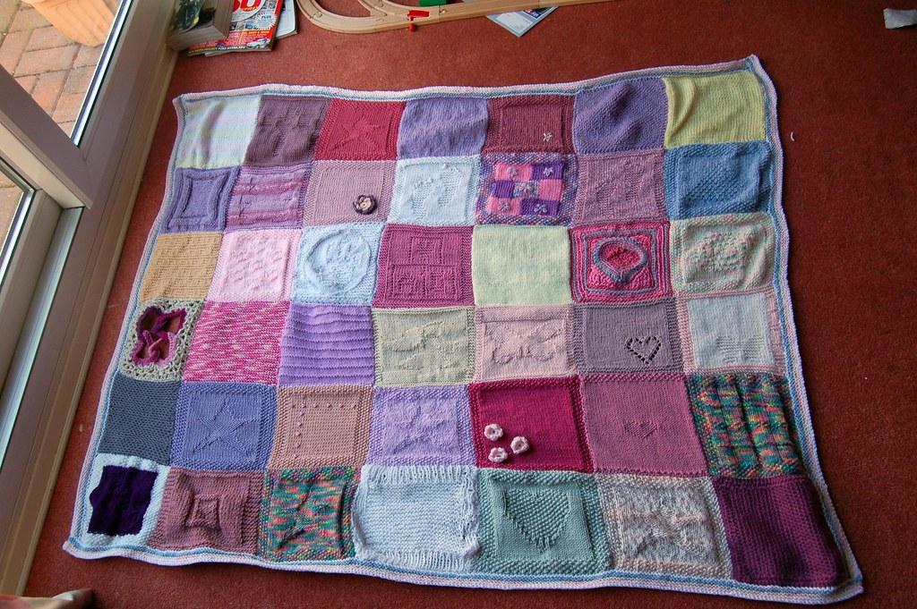 FINISHED!  Anastasia's Blanket