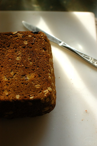oatmeal raisin banana bread
