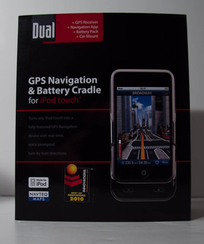Dual iPod Touch GPS Cradle