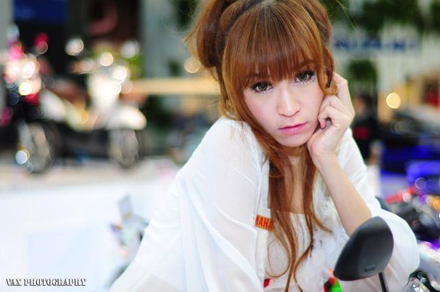 Bangkok Motor show girls 10