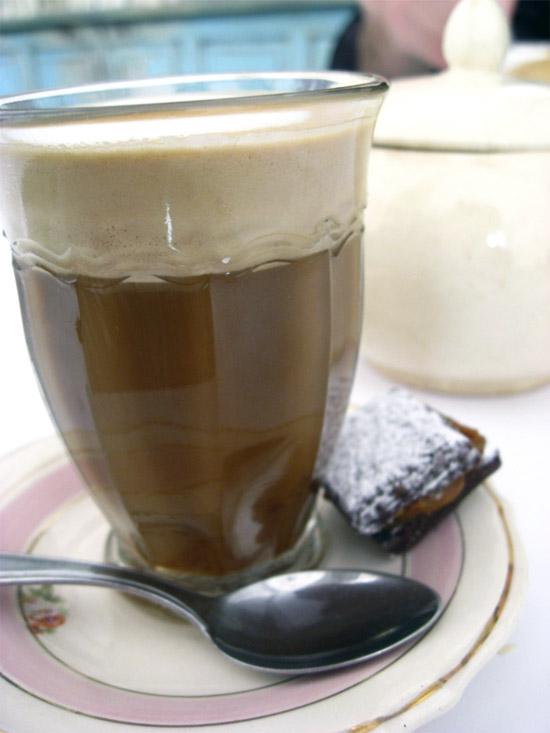 Cortado or Cafe con Leche